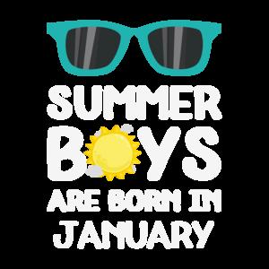 Summer Boys In January