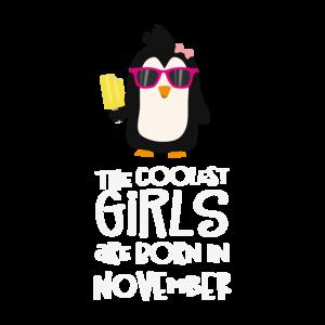 Coolest Girls Birthday In November