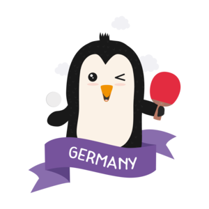 Penguin Table Tennis From Germany