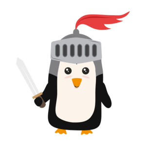 Cutest Penguin Knight