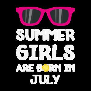 Summer Girls In July