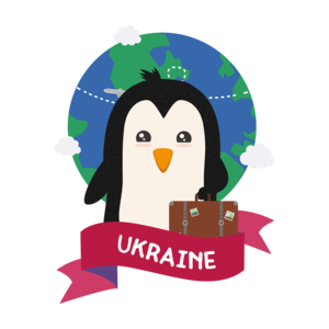 Penguin Globetrotter From Ukraine