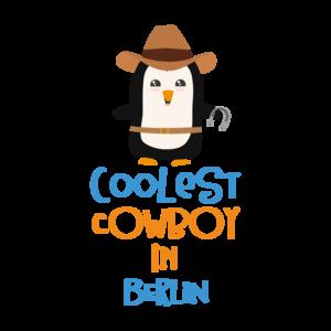 Coolest Cowboy Penguin In Berlin