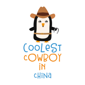Coolest Cowboy Penguin In China