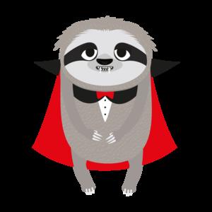 Vampire Sloth Halloween Costume