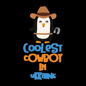Coolest Cowboy Penguin In Ukraine