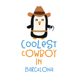 Coolest Cowboy Penguin In Barcelona