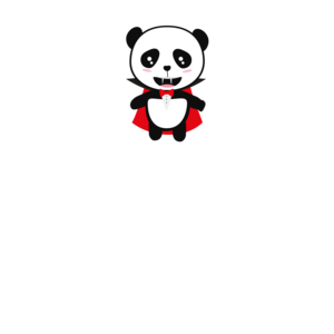 Panda Vampire Born In August