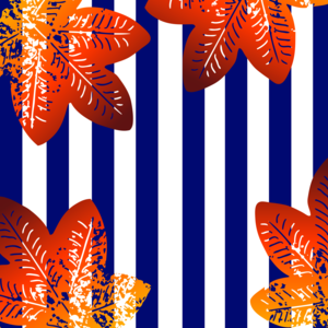 Stripes Floral Pattern 2