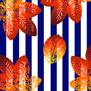 Stripes Floral Pattern 3