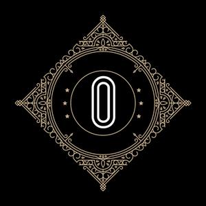 Retro Black Letter O