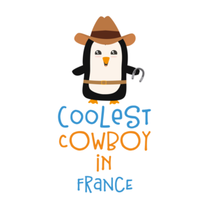 Coolest Cowboy Penguin In France