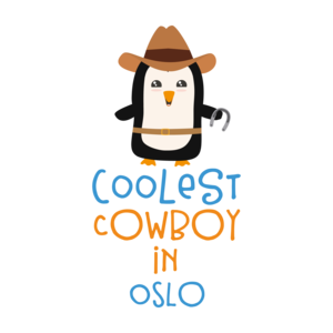 Coolest Cowboy Penguin In Oslo