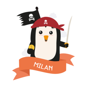 Pirate Pinguin From Milan