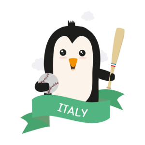 Baseball Penguin From Italy