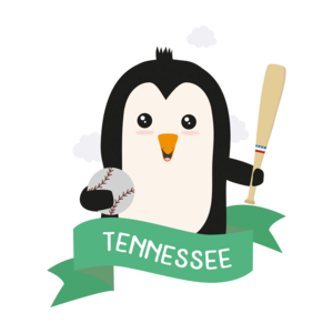 Baseball Penguin From Tennessee