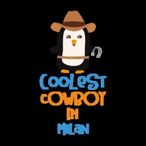 Coolest Cowboy Penguin In Milan