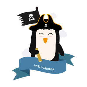 Penguin Pirate Captain From West Virginia
