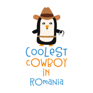 Coolest Cowboy Penguin In Romania