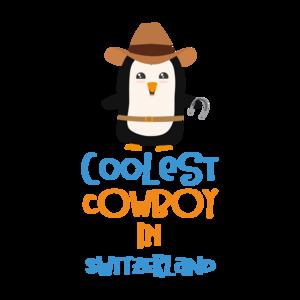 Coolest Cowboy Penguin In Switzerland