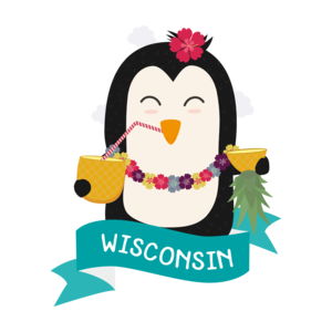 Penguin Hawaii From Wisconsin