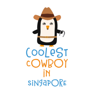 Coolest Cowboy Penguin In Singapore