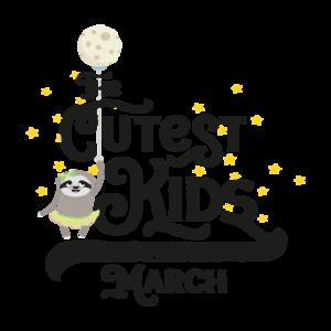 Cutest Kids Sloth Born In March