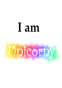 Unicorny Typography