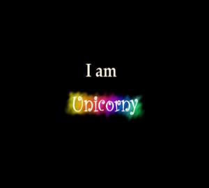 Unicorny Typography 3