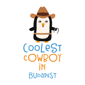 Coolest Cowboy Penguin In Budapest