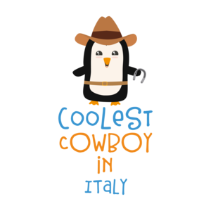 Coolest Cowboy Penguin In Italy