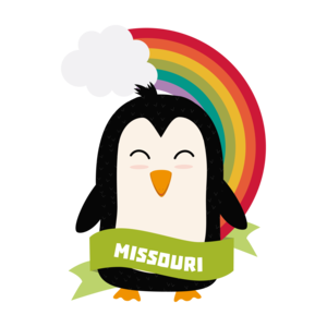 Penguin Rainbow From Missouri
