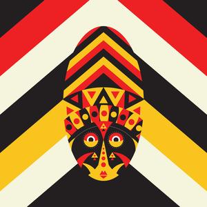 Aboriginal Multicolor Mask
