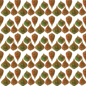 Autumn Leaves Nature Pattern