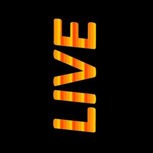 Live Retro Typography