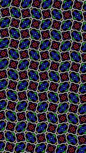 Blue Mandala Pattern