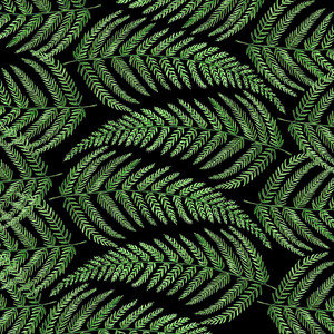 Fern Leaves Pattern