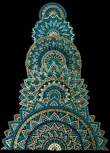 Blue Multiple Mandala