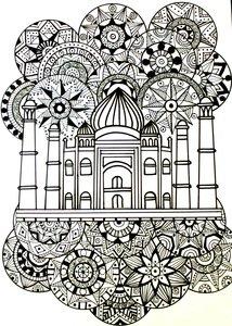 Taj Mahal Doodle