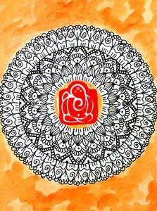 Ganesha Mandala 6