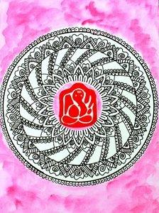 Ganesha Mandala 8