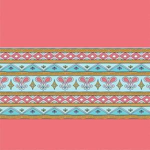 Elegant Pink Border