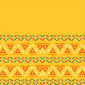 Tribal Yellow Border