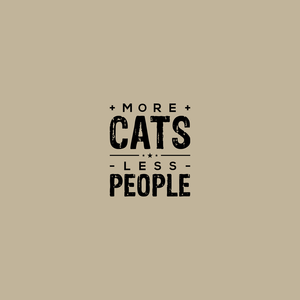 More Cats Less People