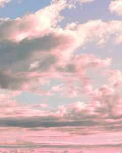 Delicate Sky Print