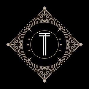 Retro Black Letter T