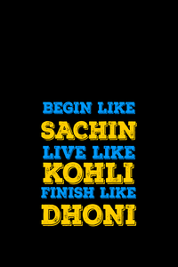 Sachin Kohli Dhoni