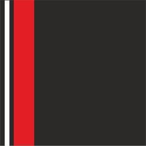 Minimal Red Strips On Black