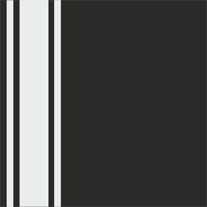 Minimal White Strips On Black