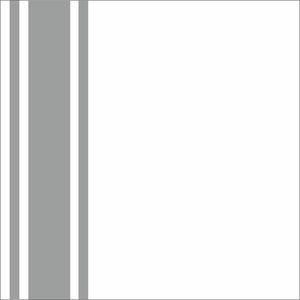 Minimal Grey Strips On White